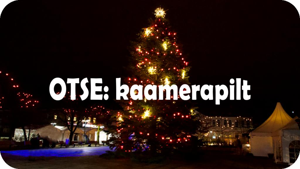 Pärnu jõuluküla - OTSE kaamerapilt